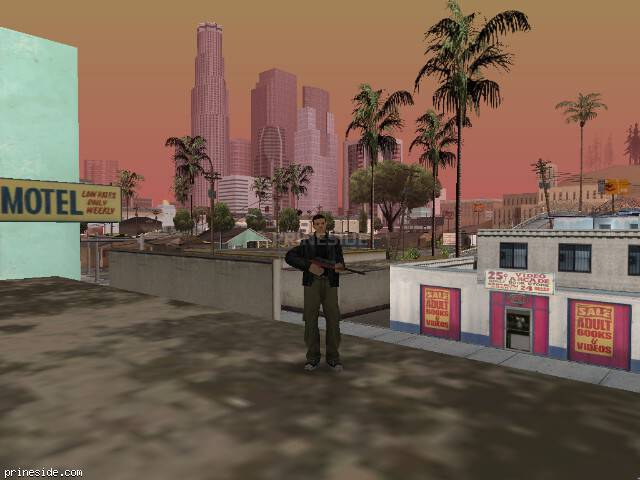 Просмотр погоды GTA San Andreas с ID 64 в 15 часов