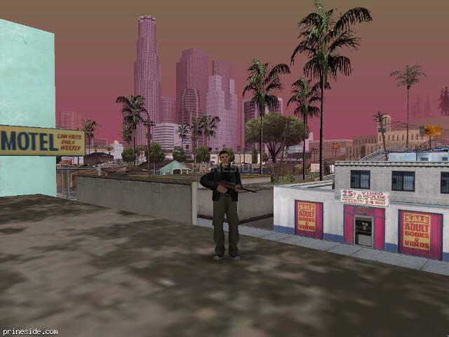 GTA San Andreas weather ID 320 at 16 hours