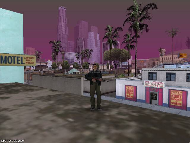GTA San Andreas weather ID 64 at 17 hours