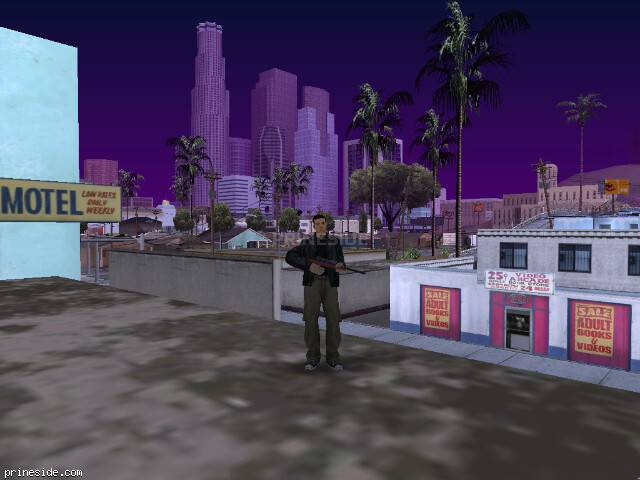 GTA San Andreas weather ID 64 at 19 hours