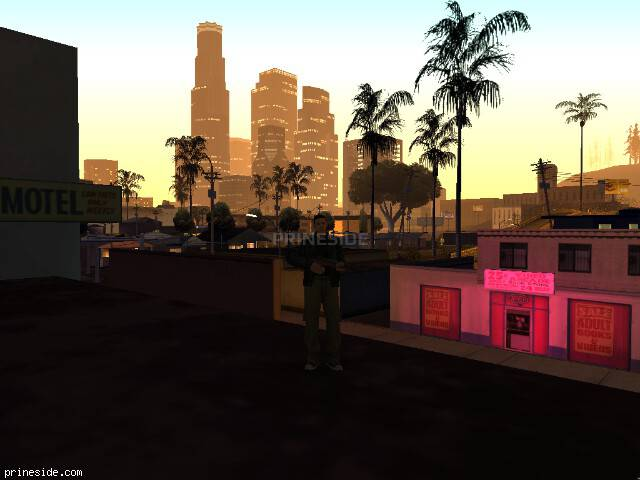 GTA San Andreas weather ID 64 at 1 hours