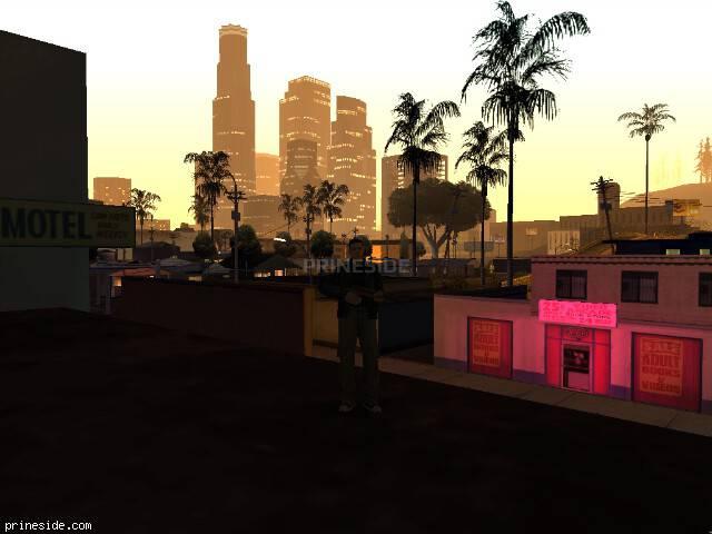 Просмотр погоды GTA San Andreas с ID 64 в 2 часов