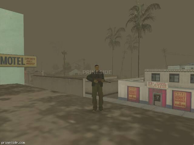 Просмотр погоды GTA San Andreas с ID 65 в 16 часов