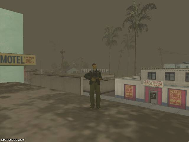 GTA San Andreas weather ID 65 at 17 hours