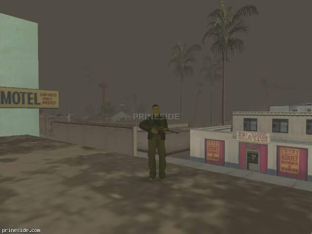 Просмотр погоды GTA San Andreas с ID 833 в 19 часов