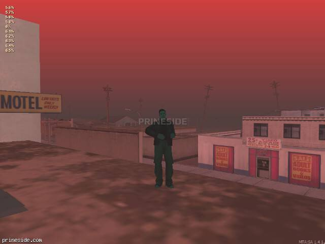 GTA San Andreas weather ID 65 at 20 hours