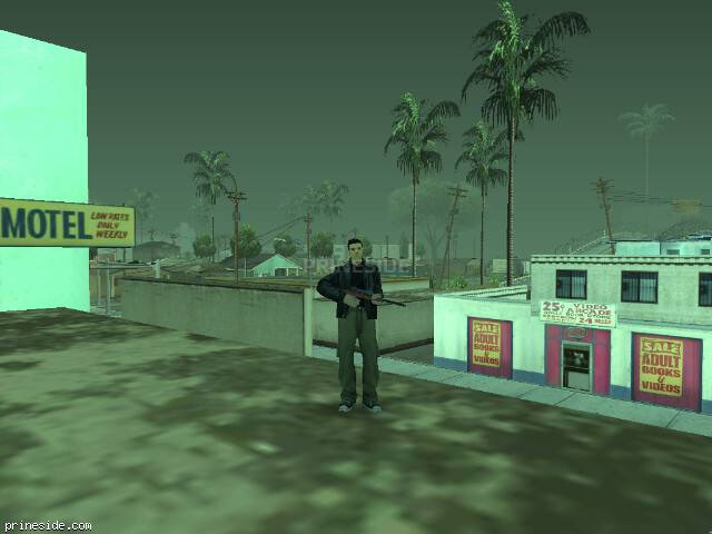 GTA San Andreas weather ID -1214 at 13 hours