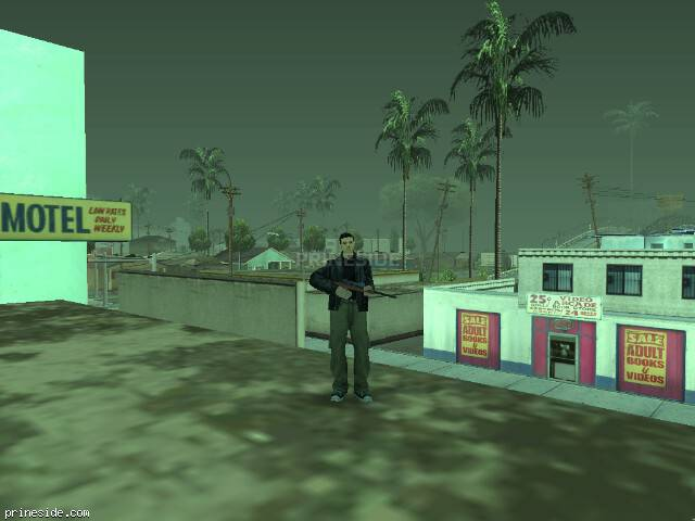 GTA San Andreas weather ID -446 at 14 hours
