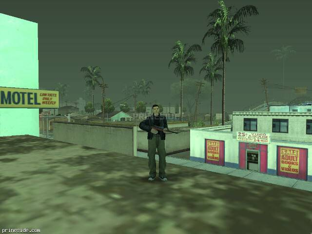 GTA San Andreas weather ID -190 at 17 hours