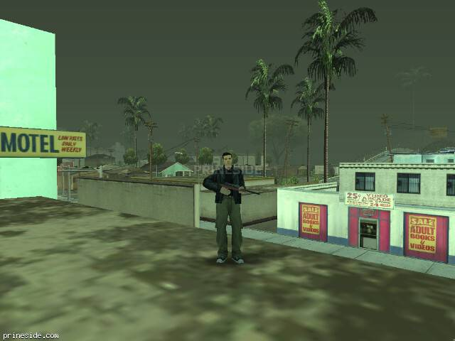 GTA San Andreas weather ID -446 at 19 hours