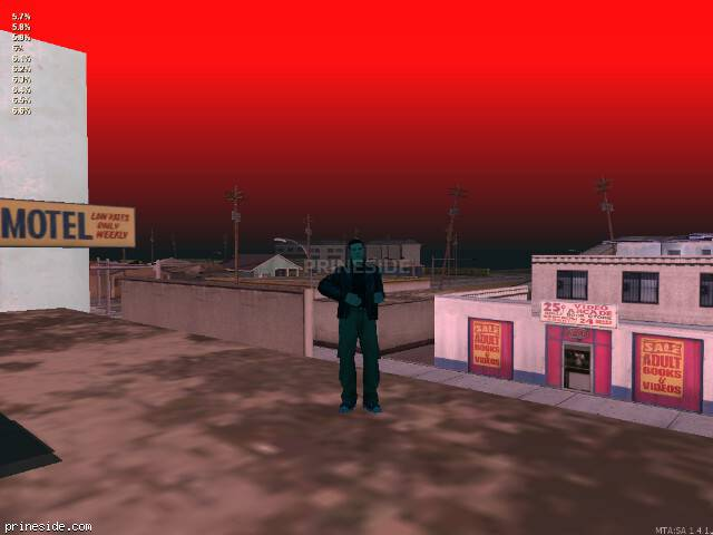 GTA San Andreas weather ID -446 at 20 hours