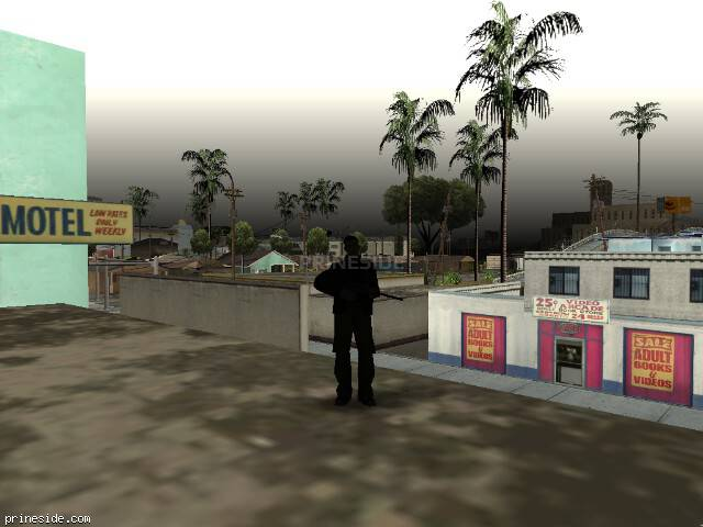 Просмотр погоды GTA San Andreas с ID 67 в 19 часов