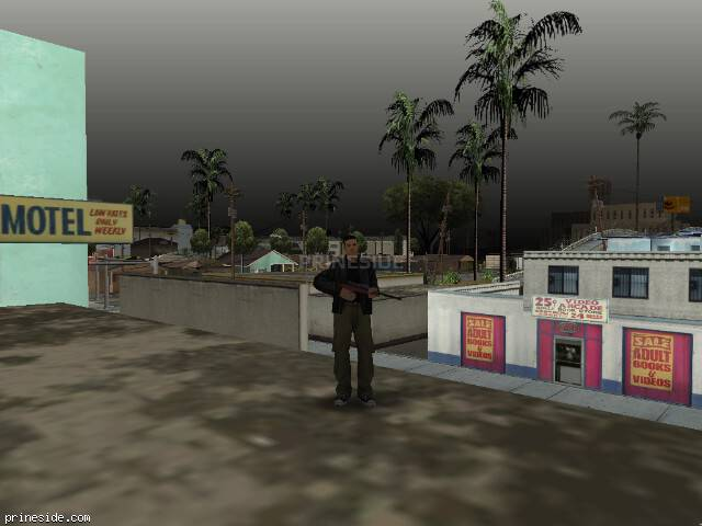 GTA San Andreas weather ID 68 at 16 hours