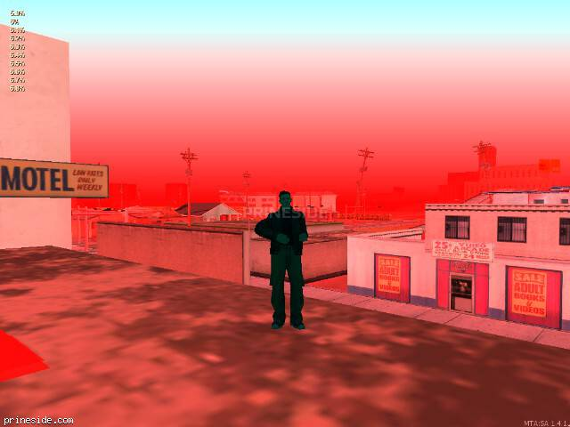 GTA San Andreas weather ID 68 at 20 hours