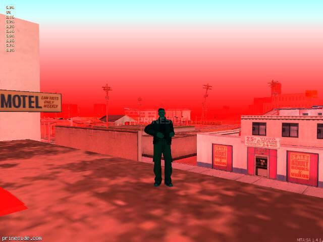 Просмотр погоды GTA San Andreas с ID 68 в 20 часов