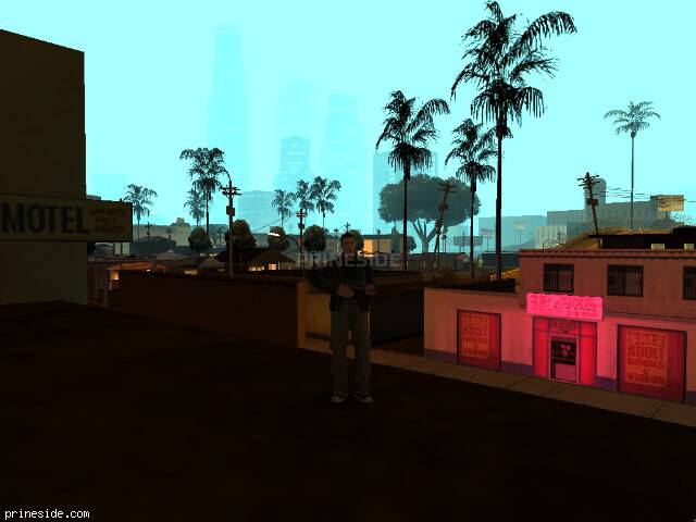 GTA San Andreas weather ID 69 at 0 hours