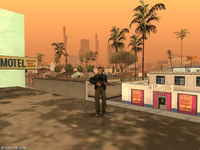 GTA San Andreas weather ID -1723 at 10 hours