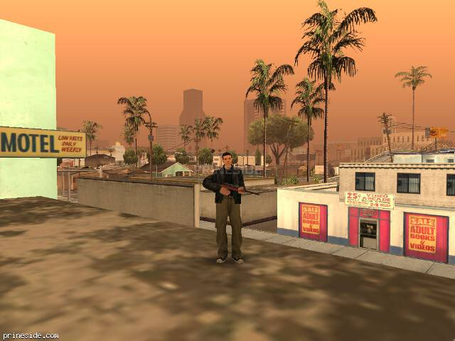 GTA San Andreas weather ID 69 at 11 hours