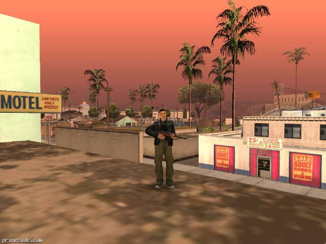 GTA San Andreas weather ID -187 at 13 hours