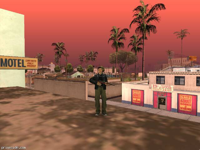 GTA San Andreas weather ID 69 at 14 hours