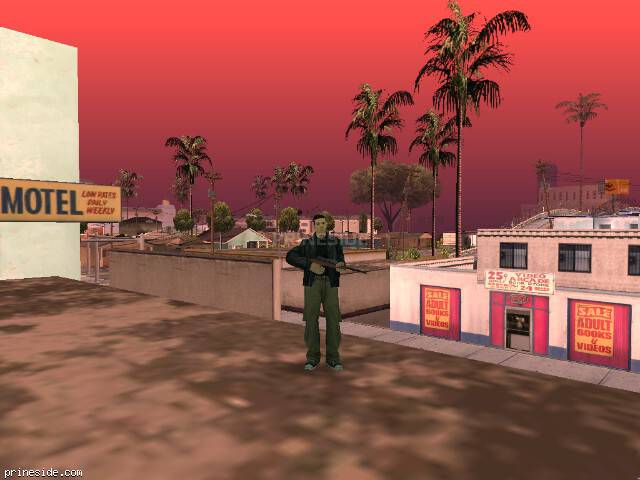 GTA San Andreas weather ID -1211 at 15 hours
