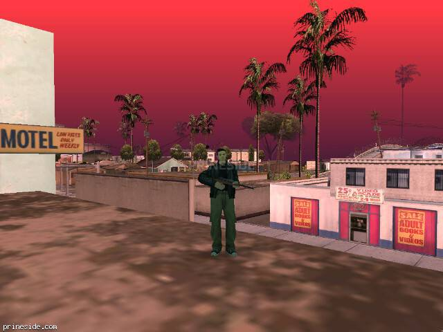 GTA San Andreas weather ID -1211 at 16 hours