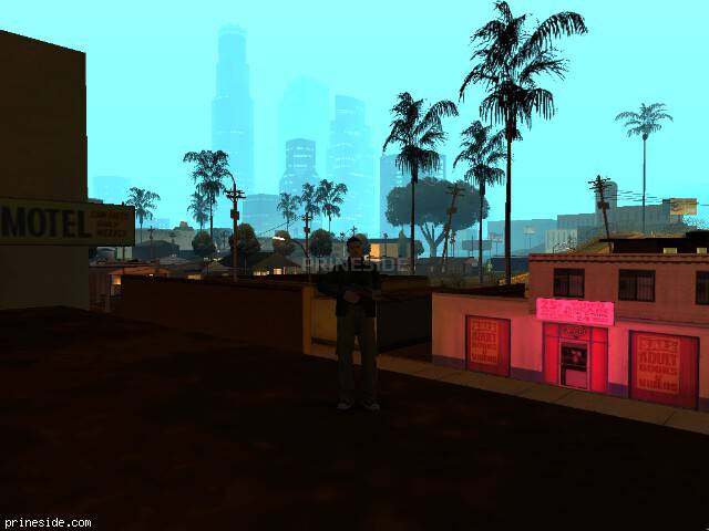 GTA San Andreas weather ID -187 at 2 hours