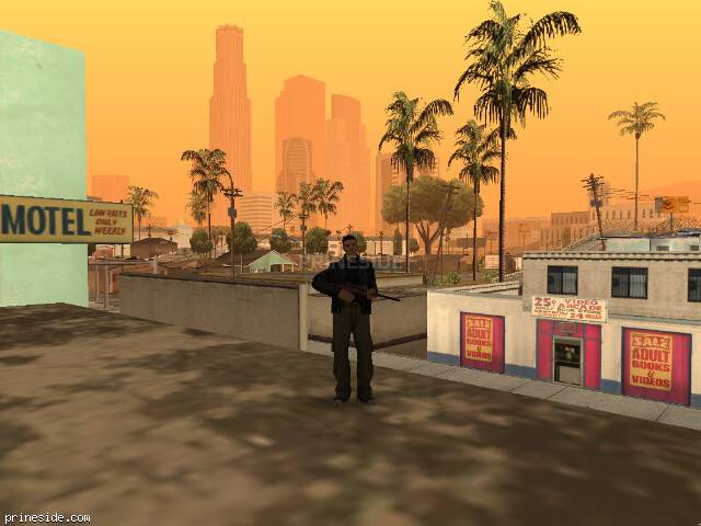 GTA San Andreas weather ID -187 at 7 hours