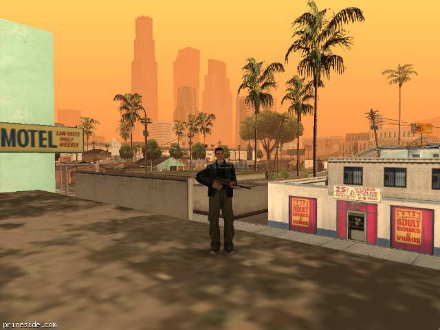 GTA San Andreas weather ID 325 at 8 hours