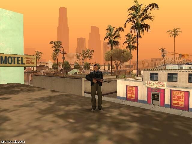 GTA San Andreas weather ID -955 at 9 hours