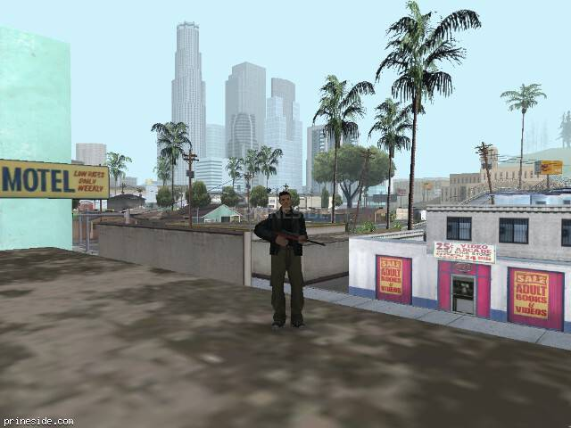 GTA San Andreas weather ID 7 at 12 hours
