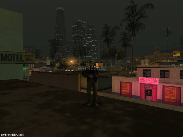 GTA San Andreas weather ID 7 at 23 hours