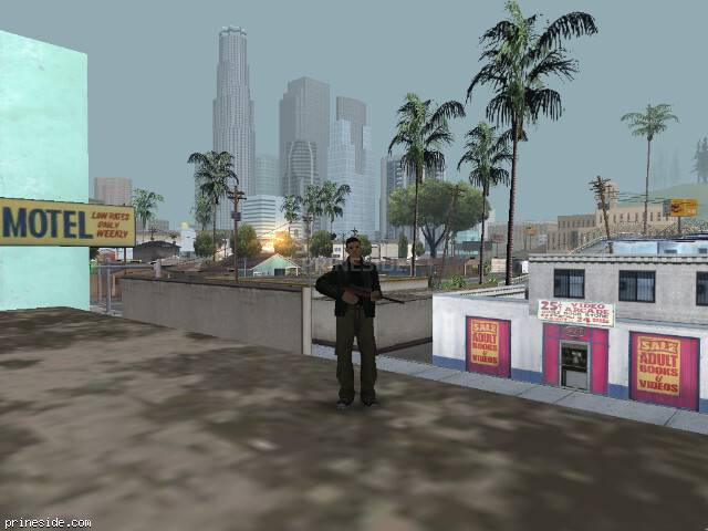GTA San Andreas weather ID 7 at 9 hours