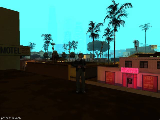 GTA San Andreas weather ID 838 at 0 hours