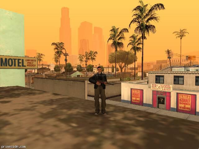 Просмотр погоды GTA San Andreas с ID 70 в 10 часов