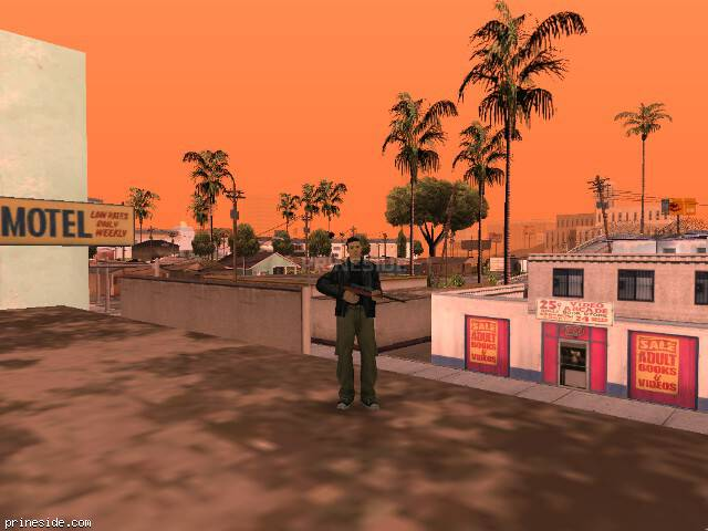 GTA San Andreas weather ID 70 at 14 hours