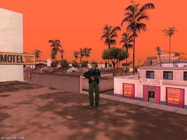 GTA San Andreas weather ID 582 at 15 hours