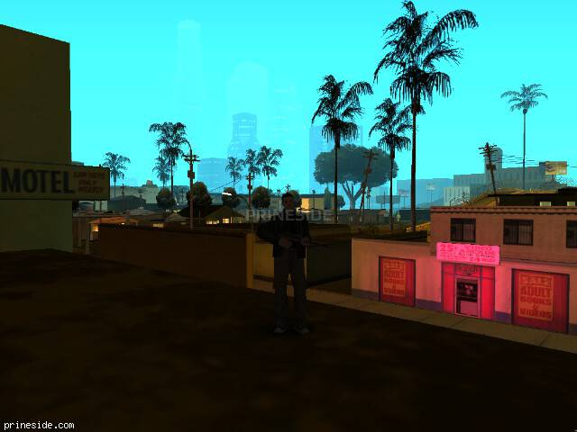 GTA San Andreas weather ID 70 at 4 hours