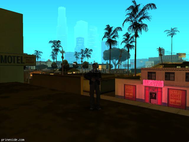 GTA San Andreas weather ID 70 at 5 hours