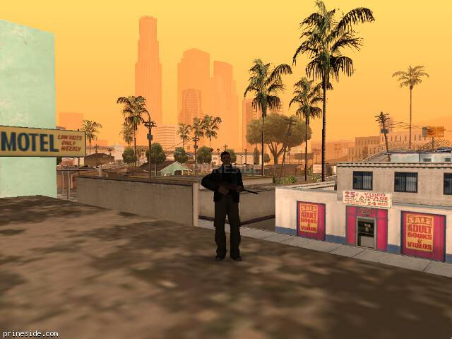 GTA San Andreas weather ID 838 at 7 hours