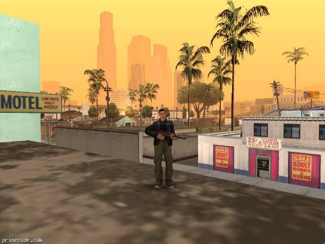 GTA San Andreas weather ID -697 at 10 hours