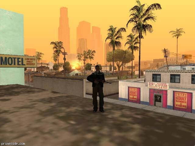 GTA San Andreas weather ID -185 at 7 hours