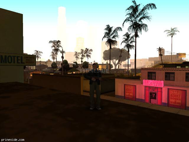 GTA San Andreas weather ID 72 at 0 hours