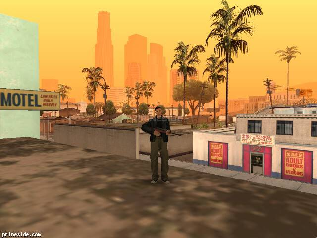 GTA San Andreas weather ID 72 at 10 hours