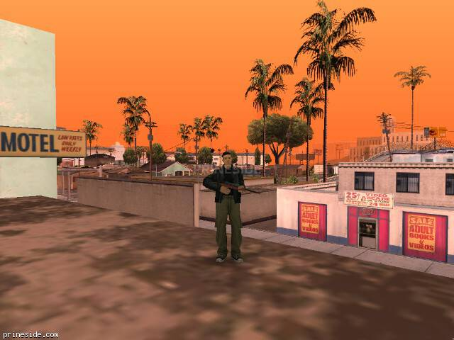 GTA San Andreas weather ID 72 at 14 hours