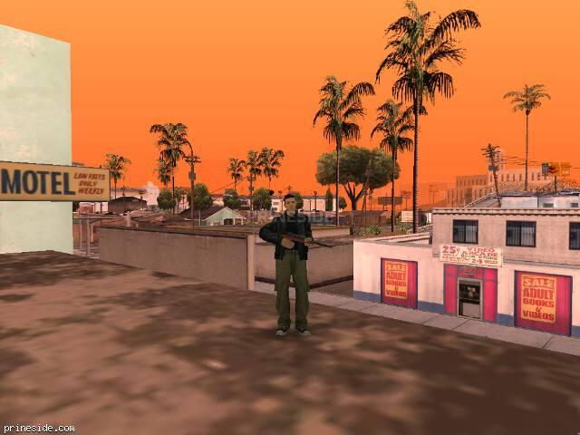 Просмотр погоды GTA San Andreas с ID 72 в 14 часов
