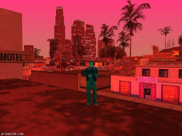 GTA San Andreas weather ID 328 at 21 hours