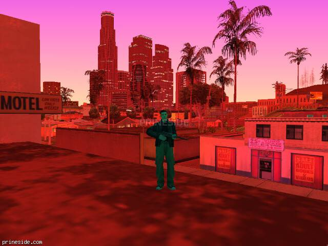 GTA San Andreas weather ID 72 at 22 hours