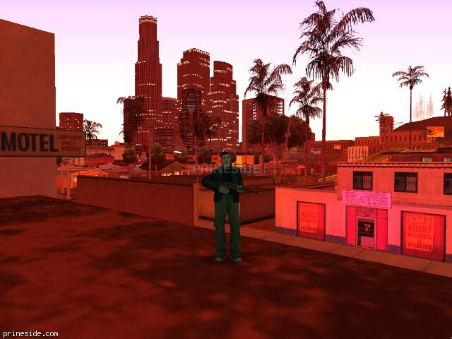 GTA San Andreas weather ID 72 at 23 hours