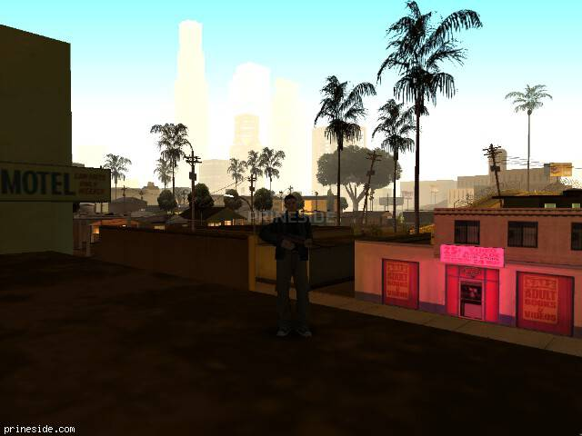 GTA San Andreas weather ID -696 at 2 hours
